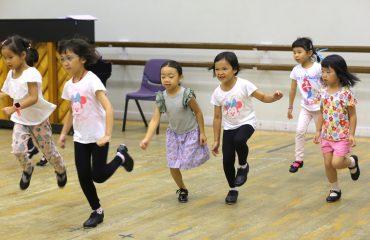 兒童初級踢躂舞 (5至8歲)