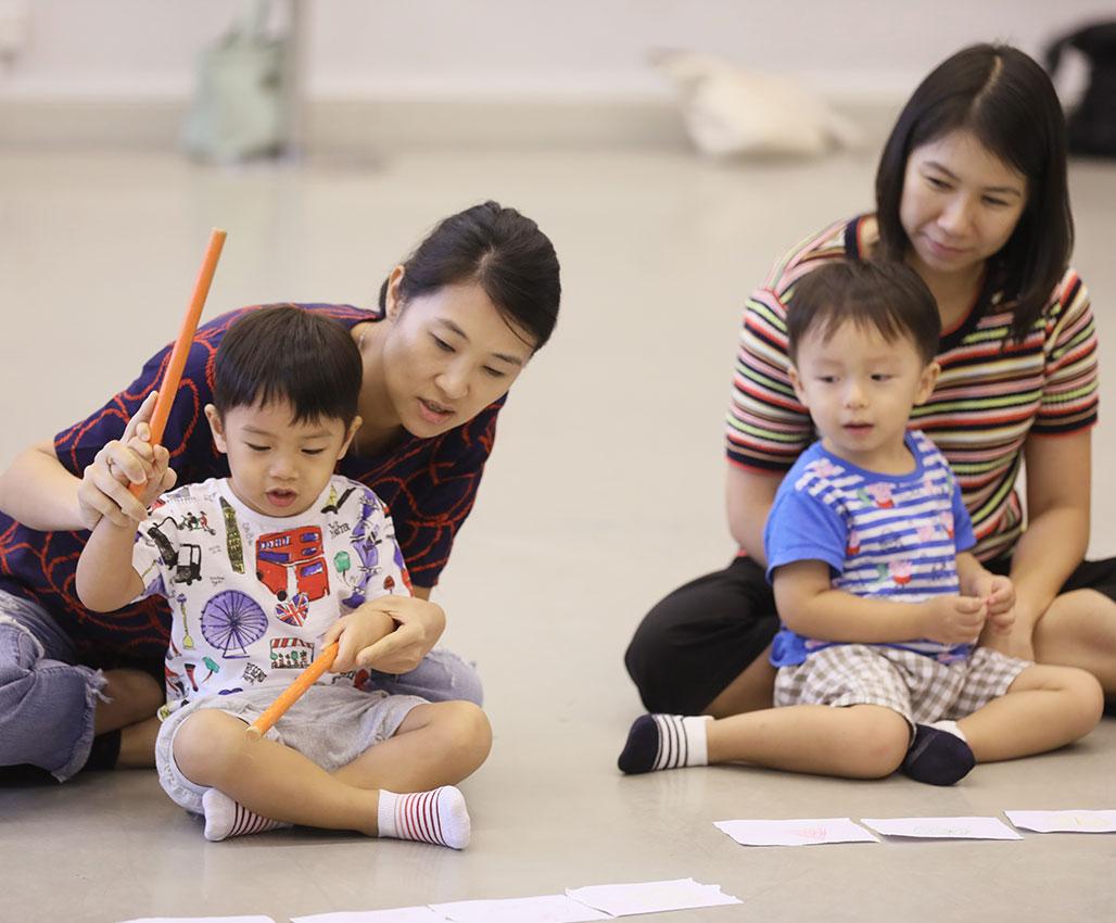 兒童音樂啟蒙課程 – 音樂荳芽A班 (1.5歲至3歲或以下及一位家長)