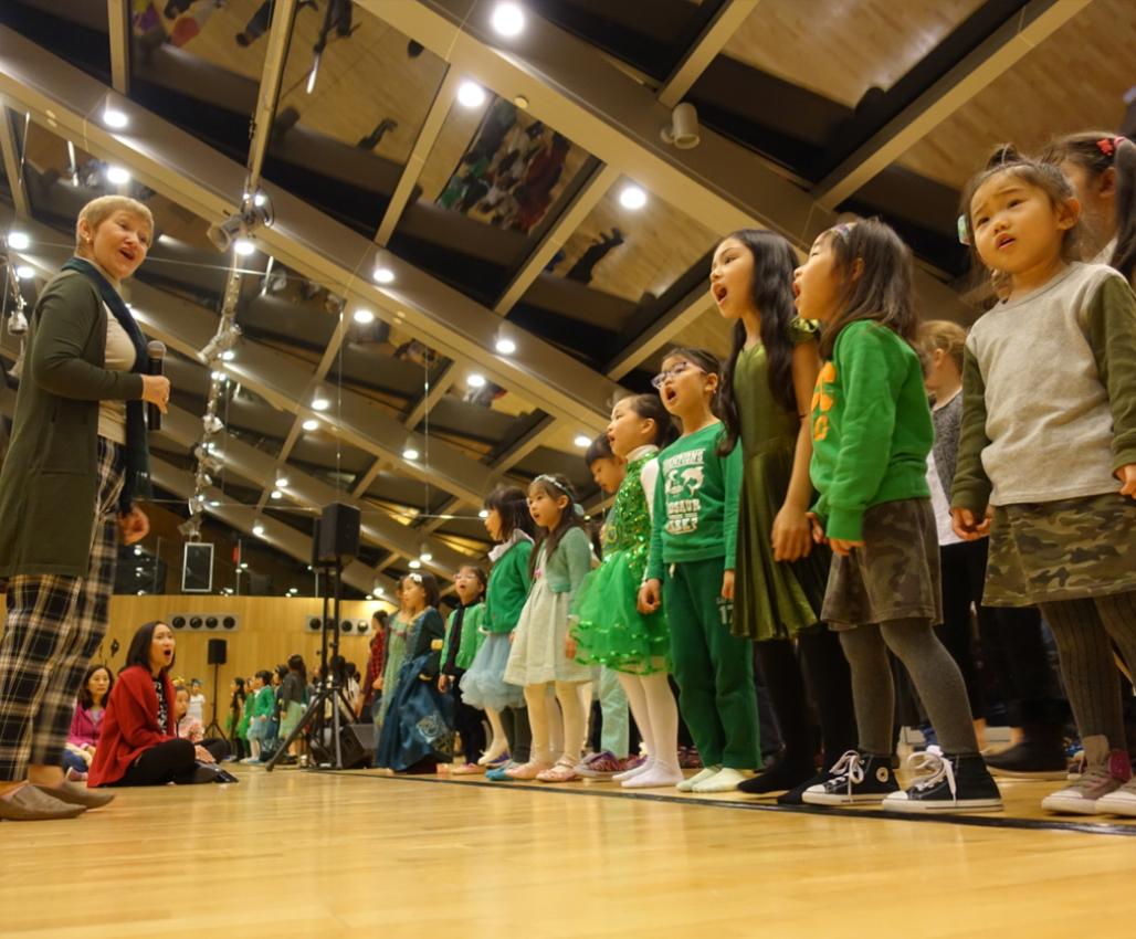 兒童音樂劇舞及歌唱訓練 –  密集C班 (8至12歲) (英語授課)