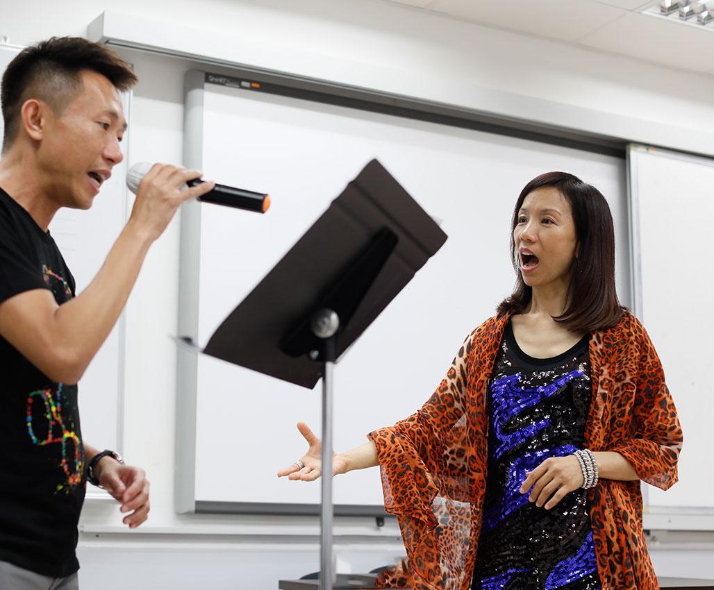 多類型曲風歌唱技巧證書課