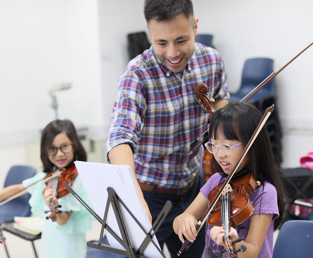 Introduction to Violin (Age 5 – 7) Class B